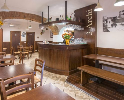 Produzione diretta arredamenti per ristoranti e pizzerie for Archi arredo roma