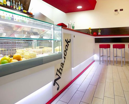 Arredamento per gelaterie e yogurterie for Arredamento per fast food