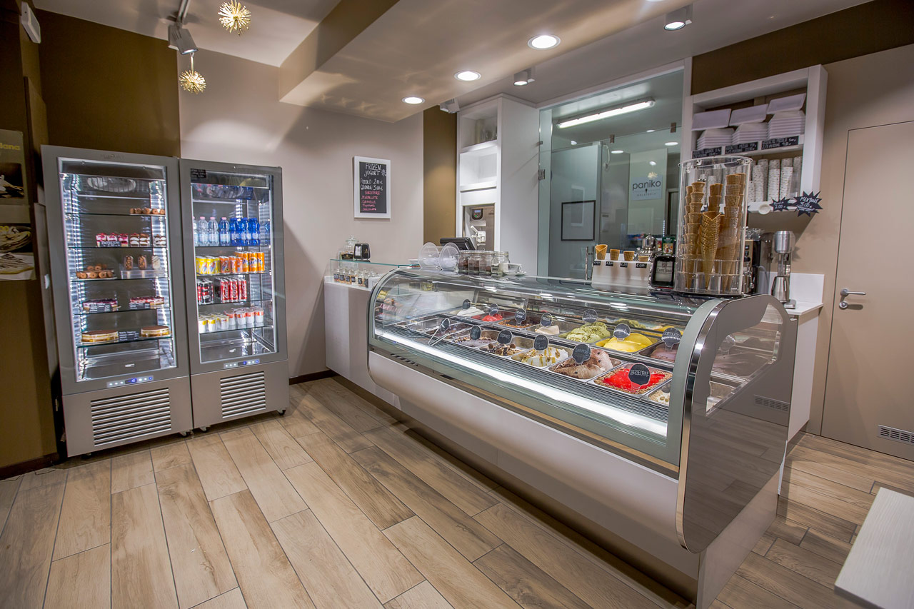 arredamento per gelaterie e yogurterie - Arredamento Interni Gelateria