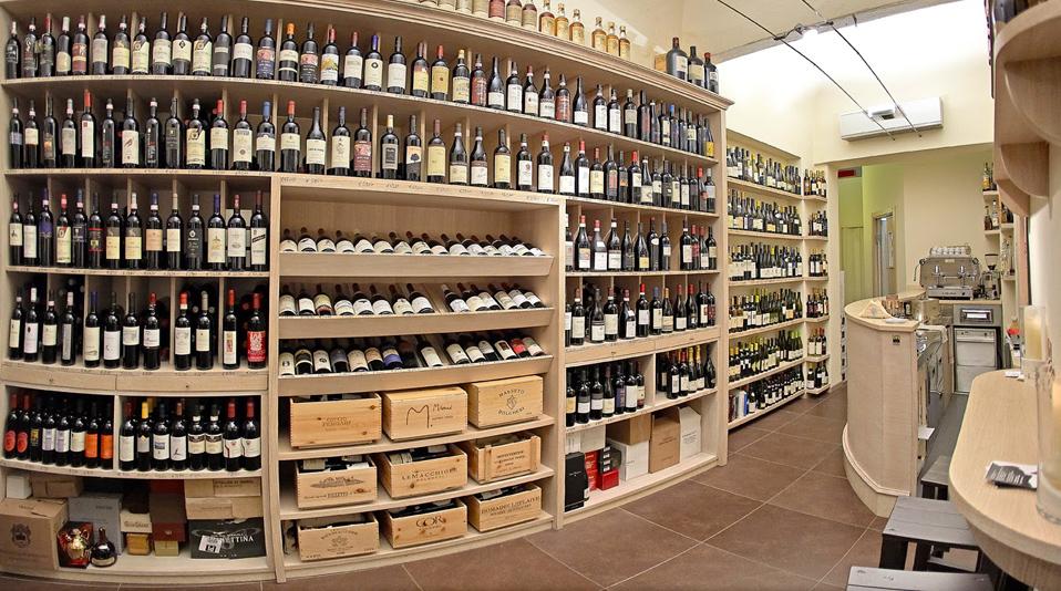 Enoteca borgo divino pisa for Arredamento wine bar